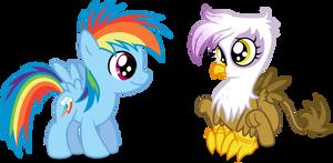Dashie and Gilda