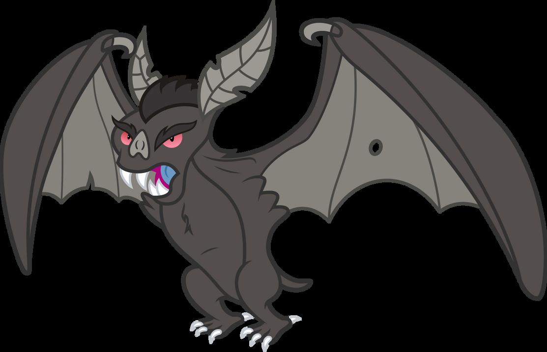 Angry bat! by MacTavish1996
