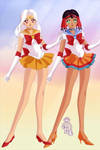 Sailor Mandara and imani by Sailorplanet97