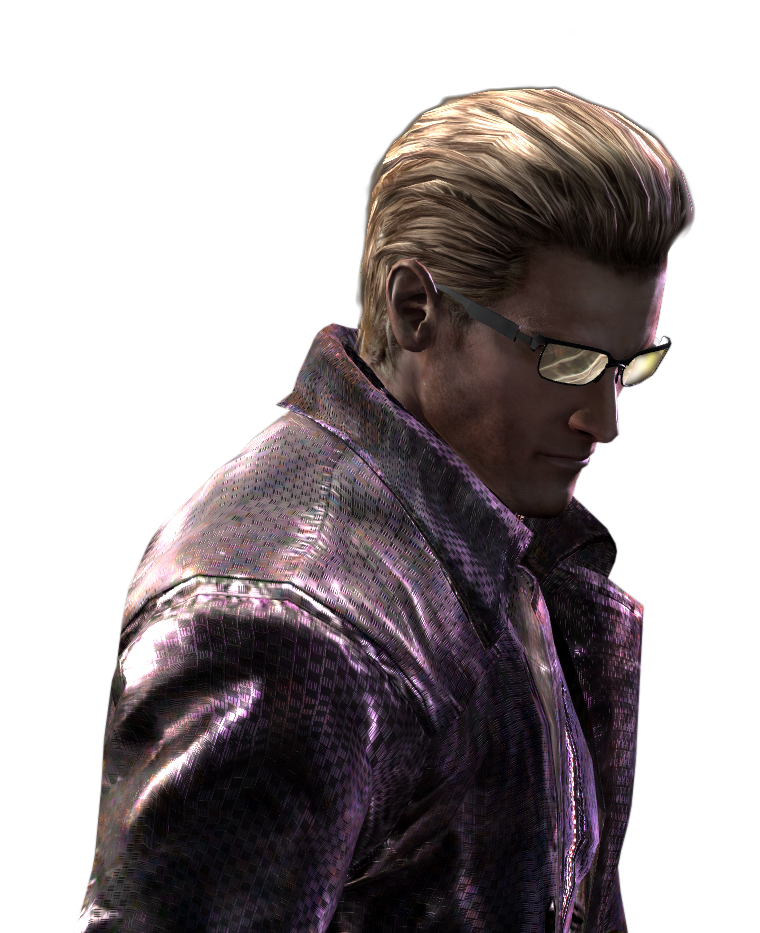 Resident Evil Hd Wallpaper: Resident Evil Wesker Large Render HD By VIOLET-2010 On