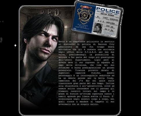 Raccoon City Police ID