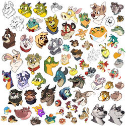 71 Headshots by AidenMonster