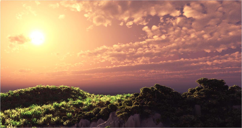 Landscape minimal by holica on deviantart for Minimal art landscape