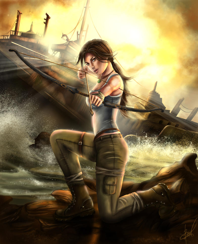Tomb Rider Wallpaper: A Survivor Is Born By Inna-Vjuzhanina On DeviantArt