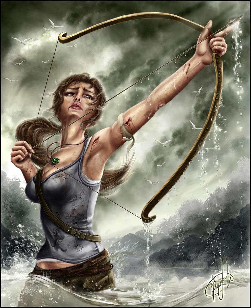 Tomb Raider reboot by Inna-Vjuzhanina