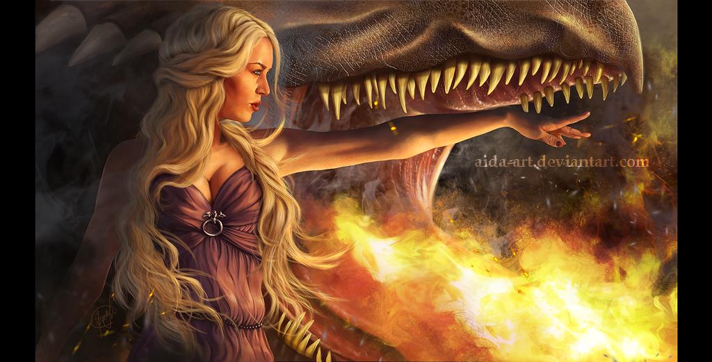 Mommy told to burn it... by Inna-Vjuzhanina
