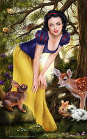 Snow White by Inna-Vjuzhanina