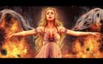 Fire cannot kill the dragon... by Inna-Vjuzhanina