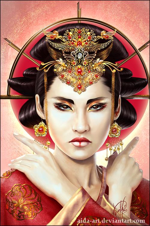 Sun Queen by Inna-Vjuzhanina