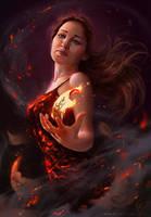 Catching Fire by Inna-Vjuzhanina