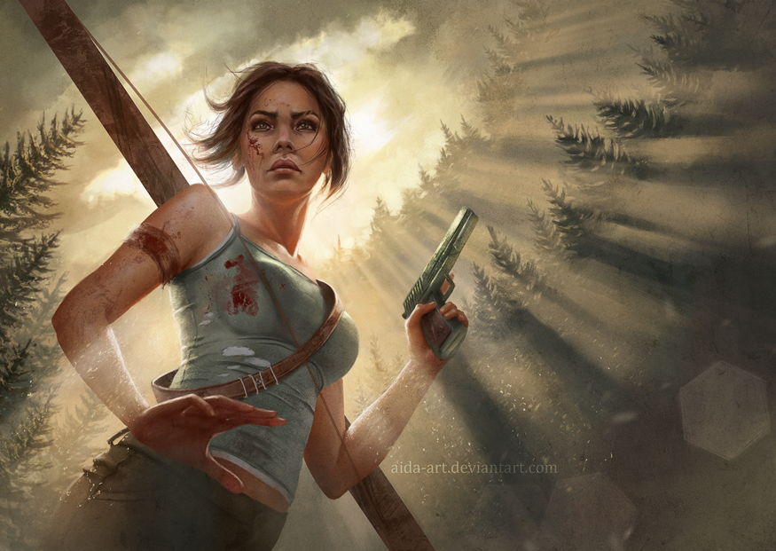 Tomb Raider by Inna-Vjuzhanina