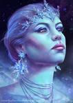 Ice Queen - portrait