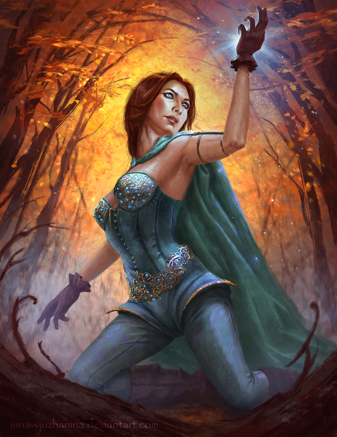 Collector of Magical Items by Inna-Vjuzhanina