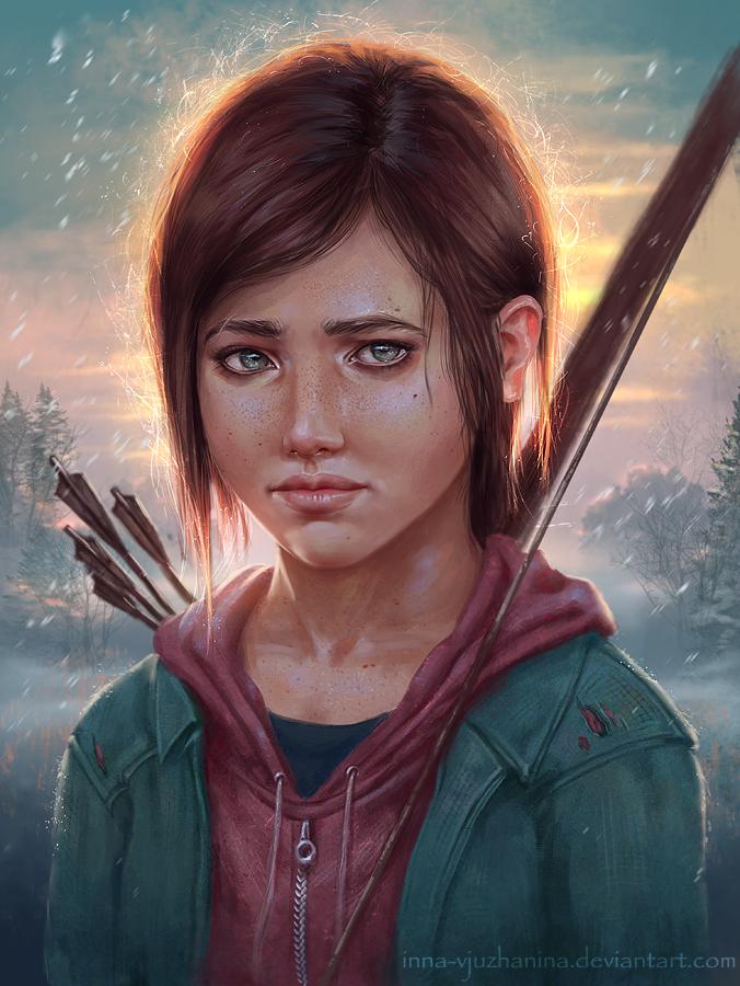 The Last Of Us - Ellie by Inna-Vjuzhanina on DeviantArt