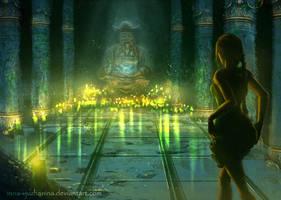 Tomb Raider sketch 04 by Inna-Vjuzhanina
