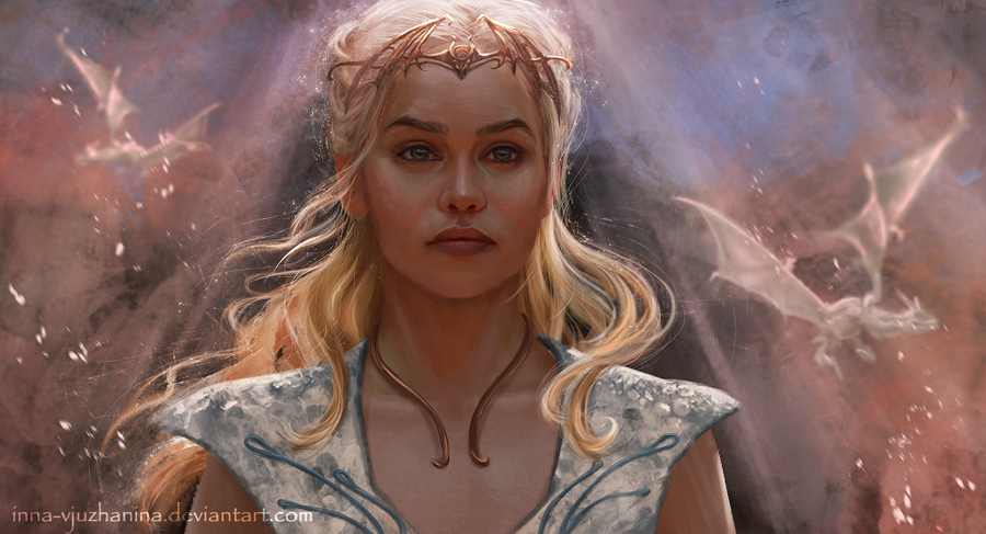 Daenerys by Inna-Vjuzhanina on DeviantArt