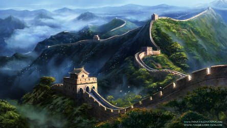Tomb Raider II - The Great Wall of China LS by Inna-Vjuzhanina
