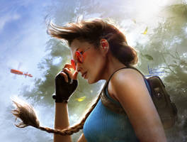 Lara's Theme Illustration