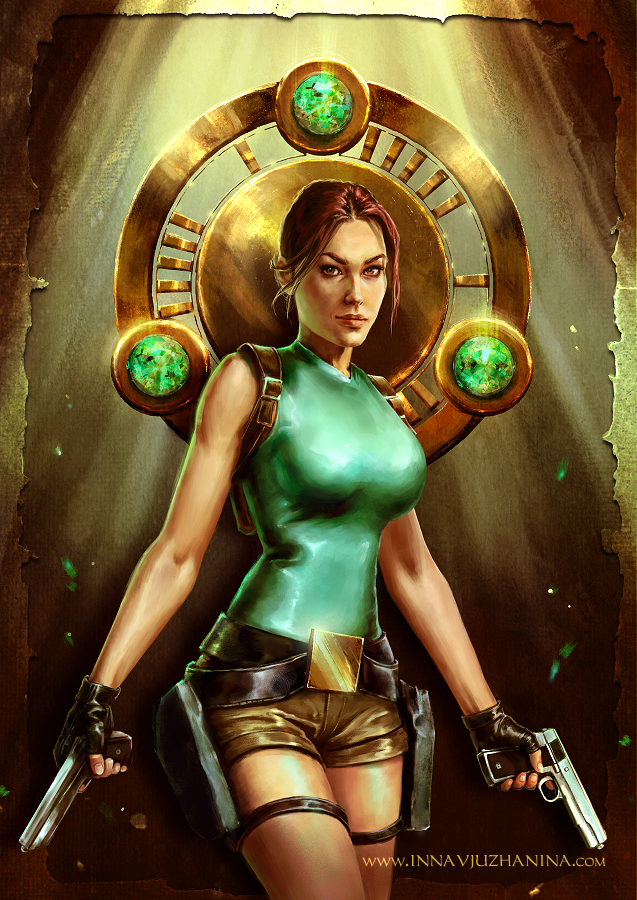 Tomb Raider 1996 By Inna Vjuzhanina On Deviantart