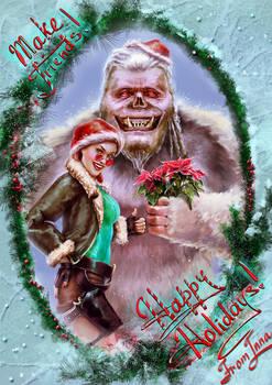Merry Croftmas and happy Yeti Day!