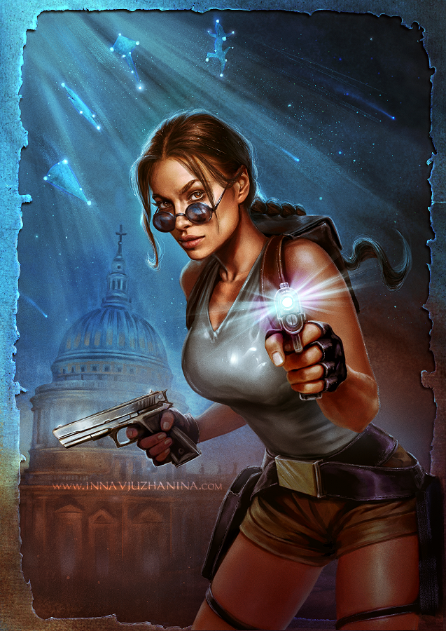 Tomb Raider 1998 By Inna Vjuzhanina On Deviantart