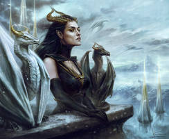 Dragon Queen by Inna-Vjuzhanina
