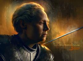 Rise, Ser Brienne of Tarth by Inna-Vjuzhanina