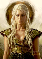Khaleesi by Inna-Vjuzhanina