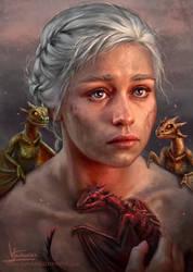 Mother of Dragons by Inna-Vjuzhanina