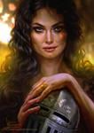 Arianne Martell by Inna-Vjuzhanina