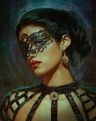 The Masks We Wear by Inna-Vjuzhanina