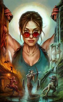 Tomb Raider: 10th Anniversary Edition Cover