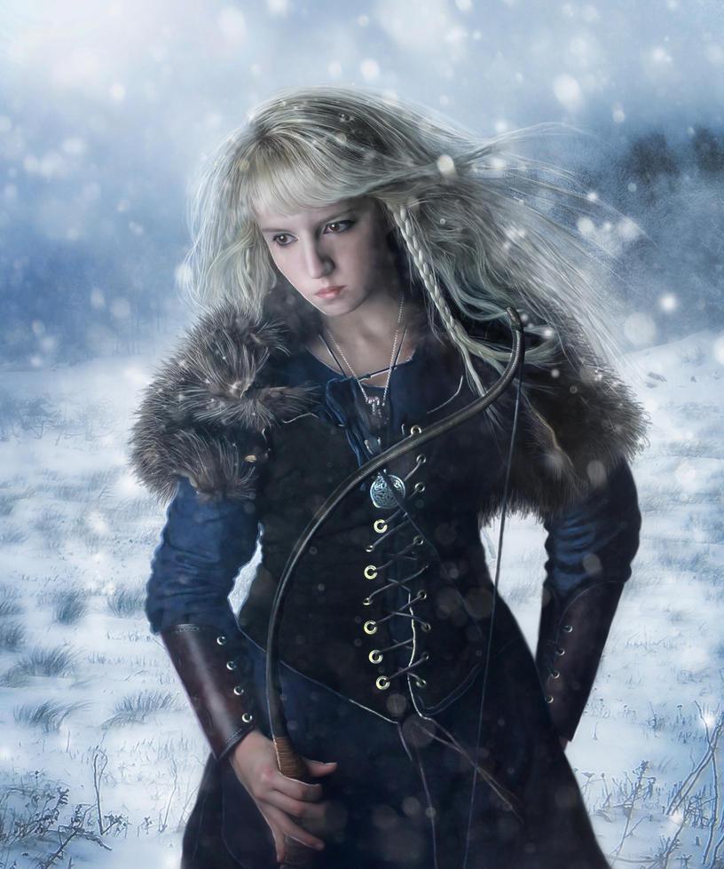 Winter Warrior by revande