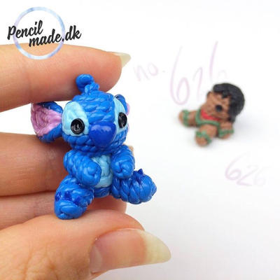 No 09 stitch from lilo stitch disney by pencilmade on for Lilo and stitch arts and crafts