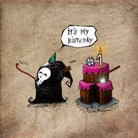 Birthday by ensombrecer
