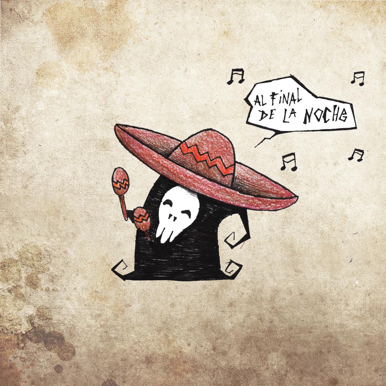 Death sombrero by ensombrecer