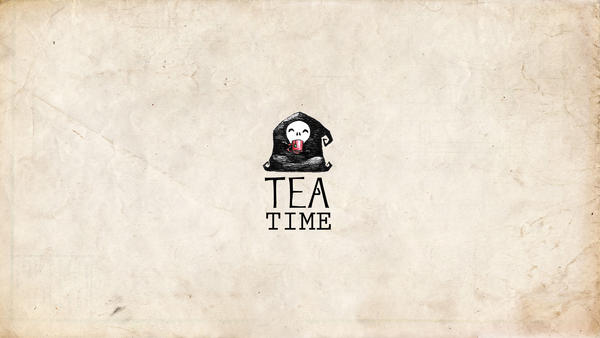 Wallpaper tea-time by ensombrecer