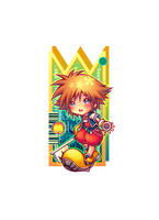 ::Little sora KH:: by guri-chan