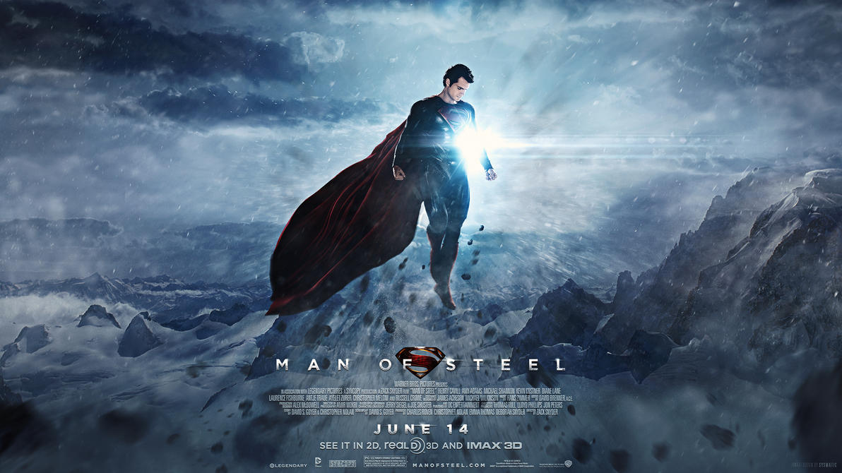 Man of Steel - Wallpaper by visuasys