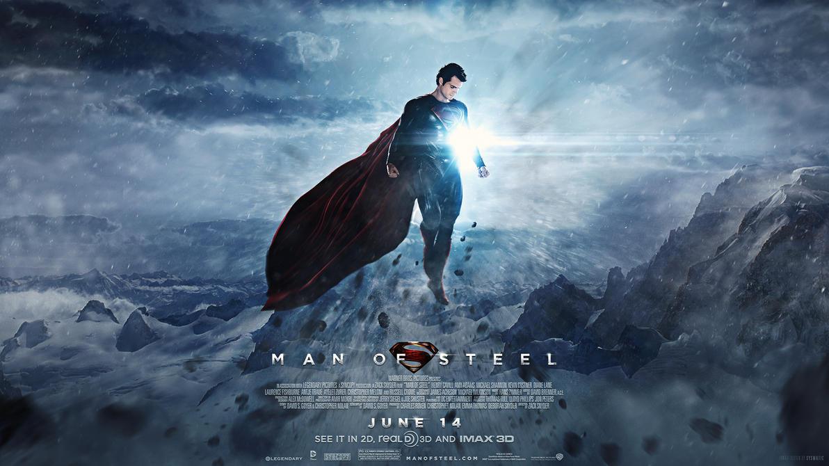 Man of Steel - Wallpaper by visuasys