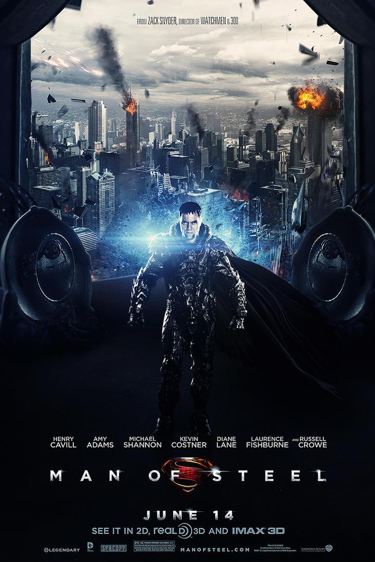Man of Steel - General ZOD by visuasys
