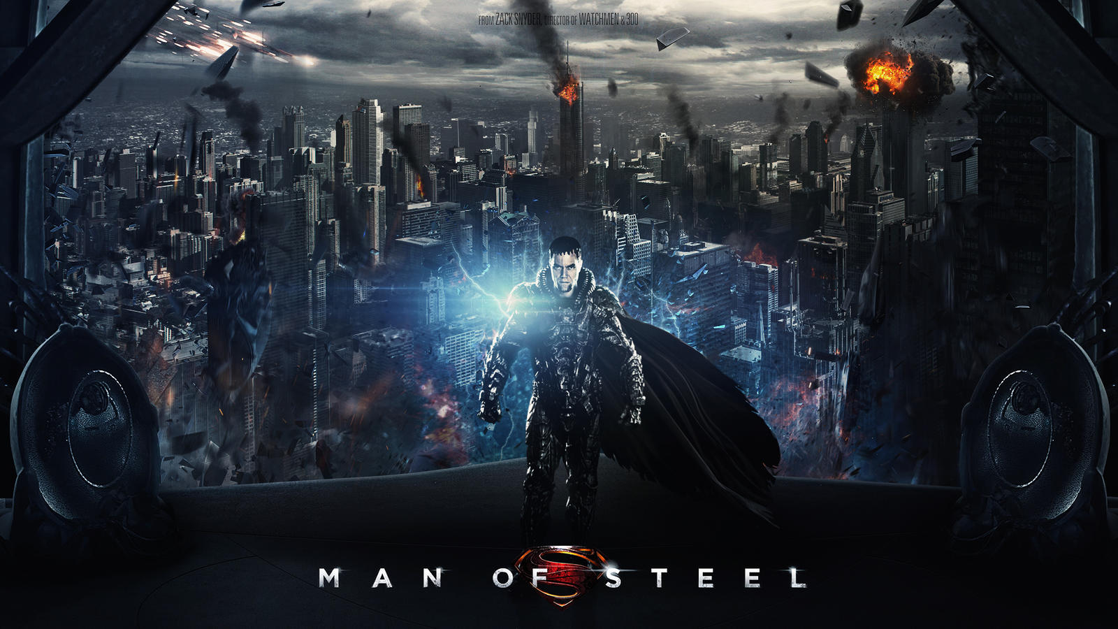 Man of Steel Wallpaper  Ultra HD Wallpapers amp Pictures