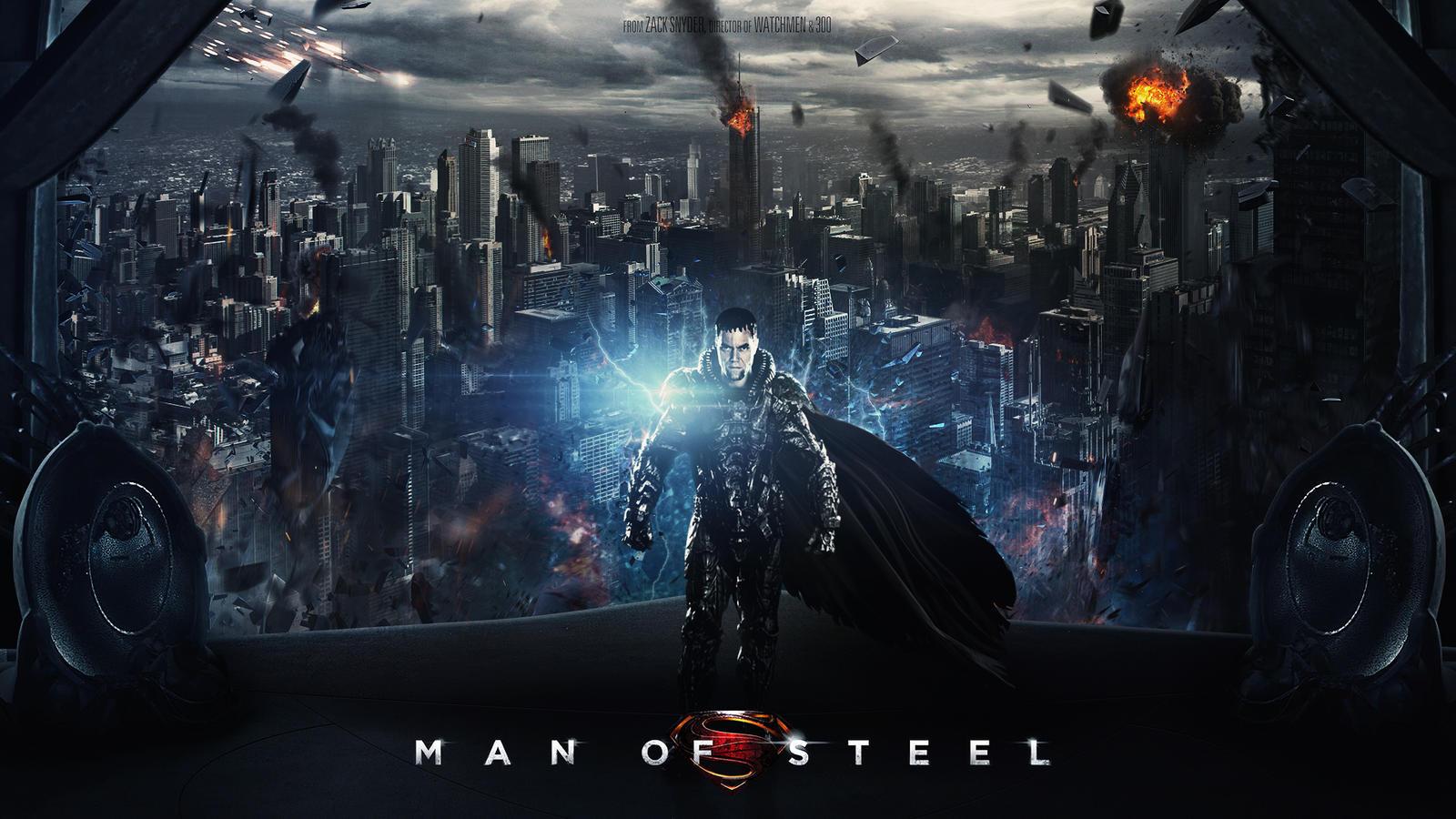 Man of Steel - General ZOD wallpaper by visuasysMan Of Steel Wallpaper Zod