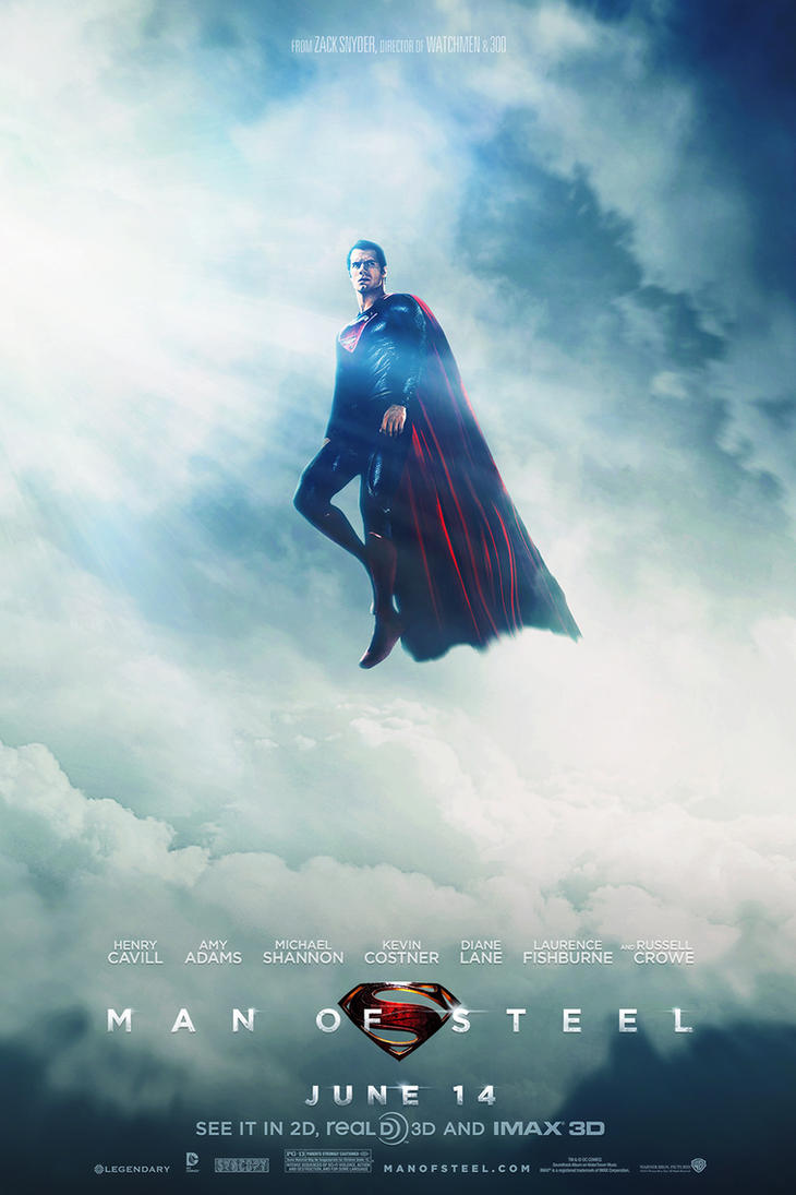 Man of Steel Poster 3 by visuasys