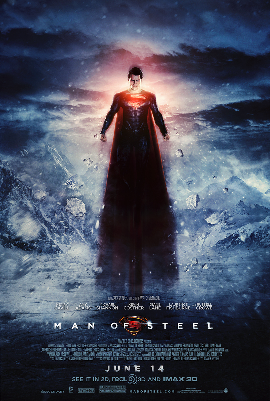 Man of Steel Poster 4 ...