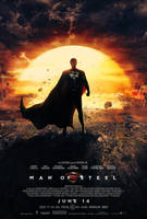 Man of Steel - Dreamstate poster by visuasys
