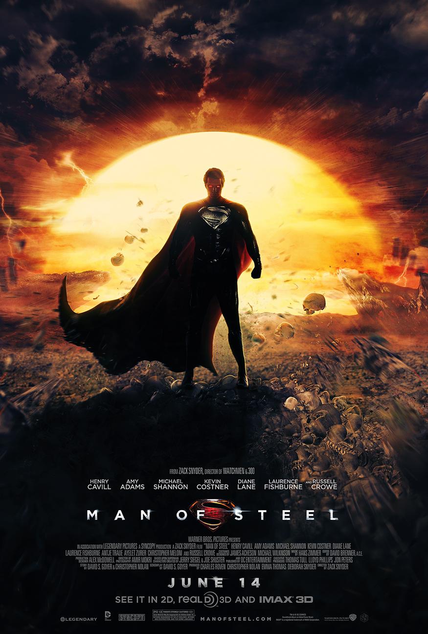 Man of Steel - Dreamstate poster