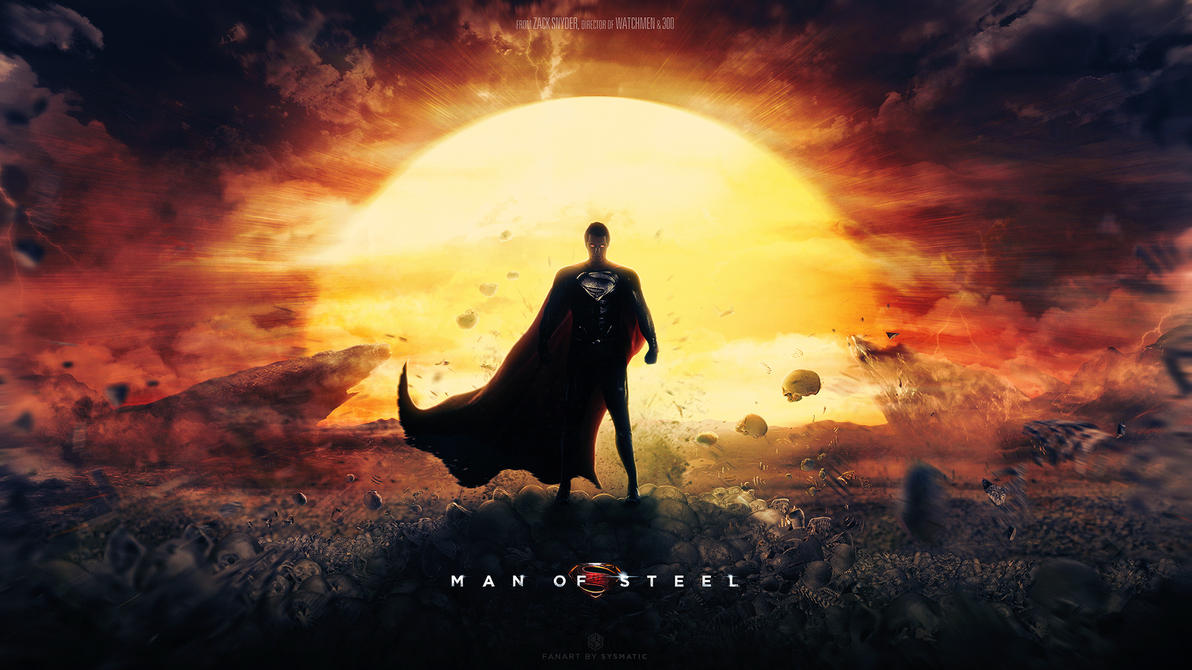 Man of Steel -  Dreamstate wallpaper by visuasys