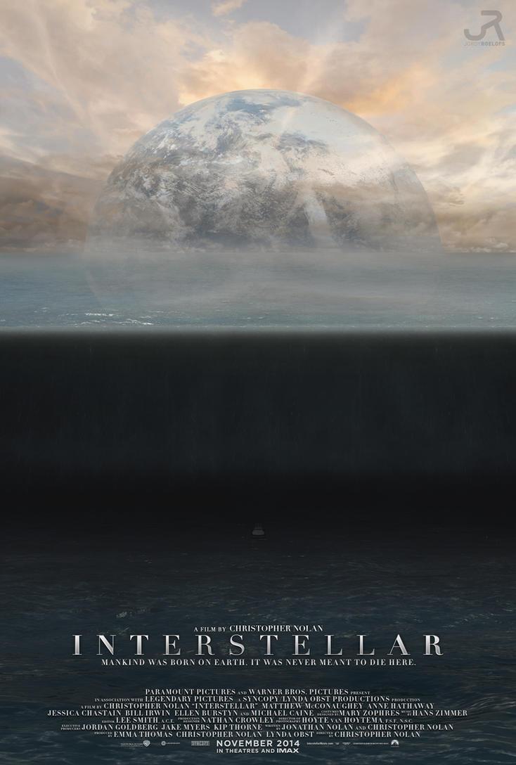Interstellar Poster #8 by visuasys