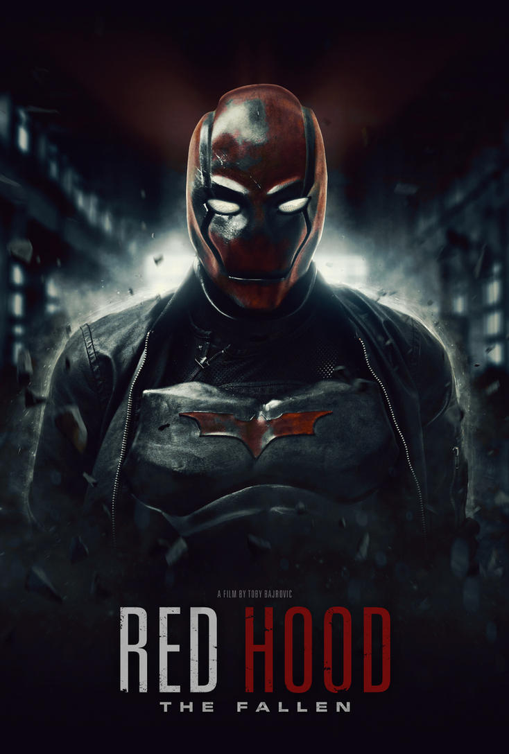 Red Hood: The Fallen Poster #1 (Fan Film) by visuasys